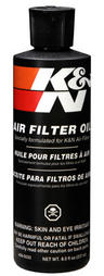 99-0533 K&N KN AIR FILTER OIL 8.0fl oz (237ml) SQUEEZE TUBE K&N SERVICE