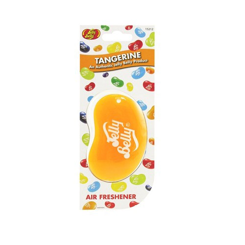 jelly belly 3d car air freshener tangerine flavour air. Black Bedroom Furniture Sets. Home Design Ideas