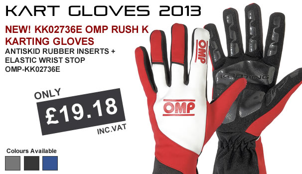 RUSH K KARTING GLOVES