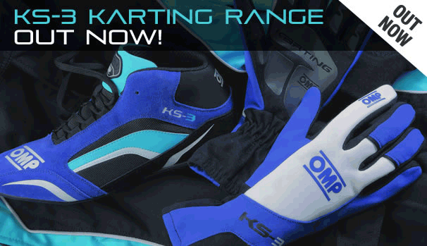 KS-3 KARTING RANGE OUT NOW