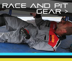 Race and Pit Gear