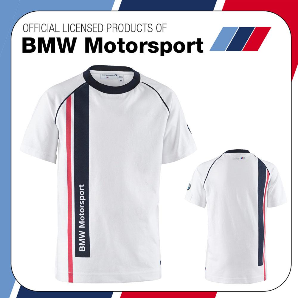 sale official bmw motorsport m sport kids childrens t. Black Bedroom Furniture Sets. Home Design Ideas