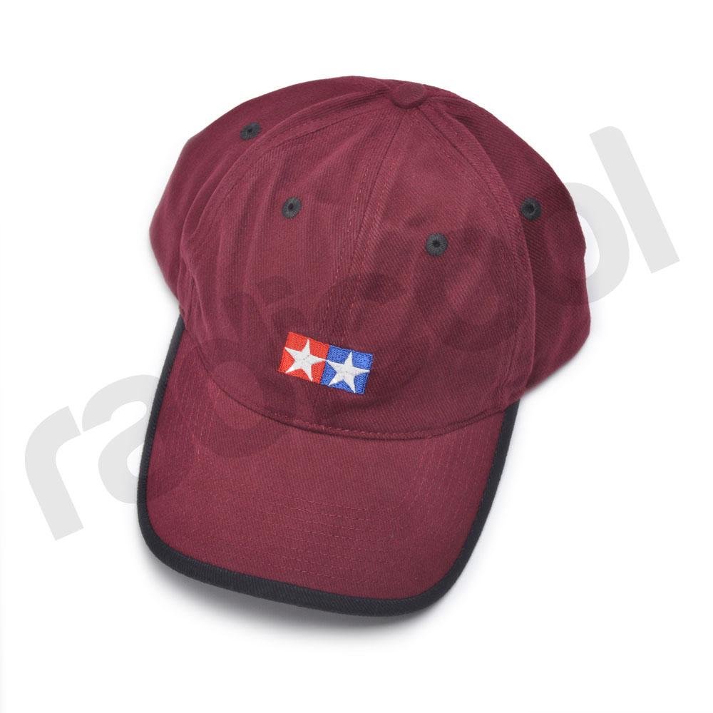66974 new tamiya maroon burgundy baseball cap sports black