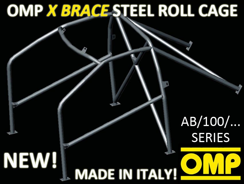 View Item AB/100/269A OMP BOLT IN ROLL CAGE BMW M3 E90 M3 4 DOORS