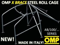 AB/100/275A OMP WELD IN ROLL CAGE PEUGEOT 207 3 DOORS inc GT GTI THP 04/06-