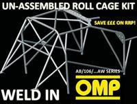 AB/106/261AW OMP WELD IN ROLL CAGE KIT fits Subaru IMPREZA WRX STI 2007-