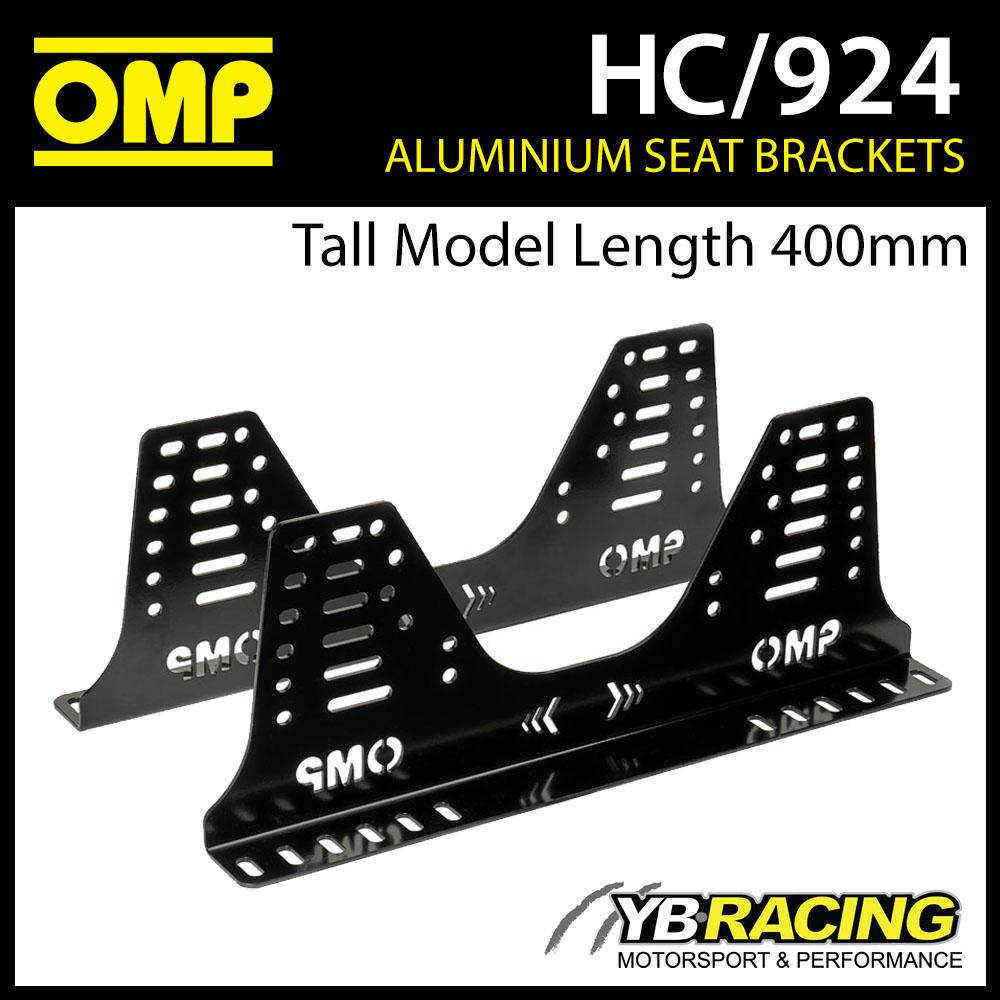 NEW! HC/924 OMP ALUMINIUM RACE SEAT SIDE MOUNT BRACKETS ULTRA STRONG in 6mm FIA