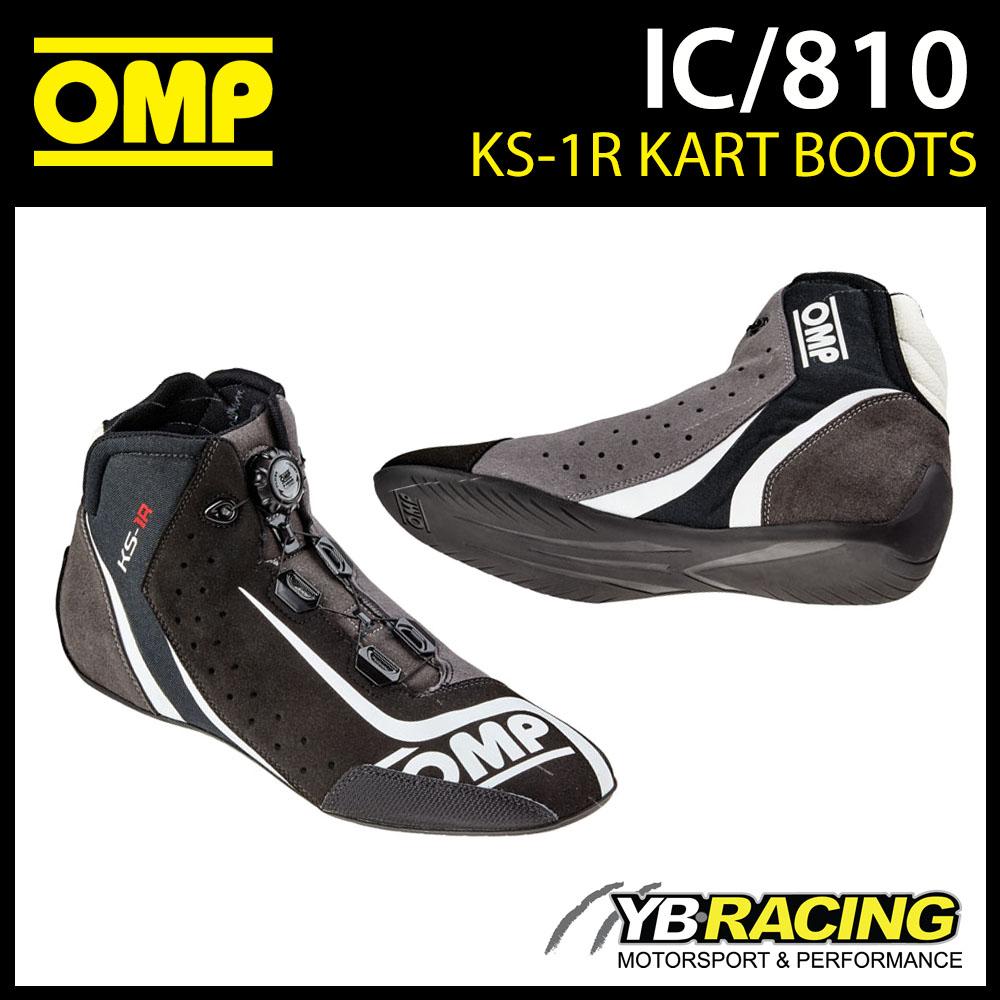 IC/810 OMP KS-1R KART BOOTS (2016 MODEL)