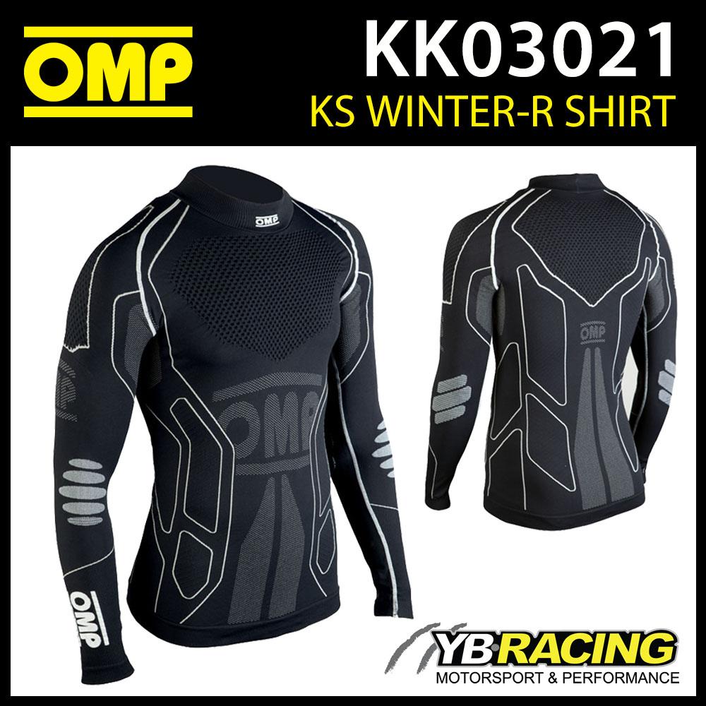 KK03021 OMP WINTER-R LONG SLEEVE BASE LAYER T-SHIRT