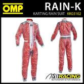 KK03102 OMP RAIN-K KART SUIT
