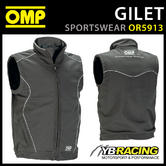 New! OR5913 OMP Racing Spirit Softshell Sports Gilet Windproof Breathable S-XXL
