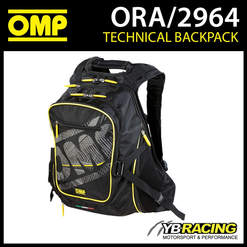 ORA/2964 OMP Racing ONE Backpack Rucksack Bag for Pitcrew/Leisure/Team/Travel