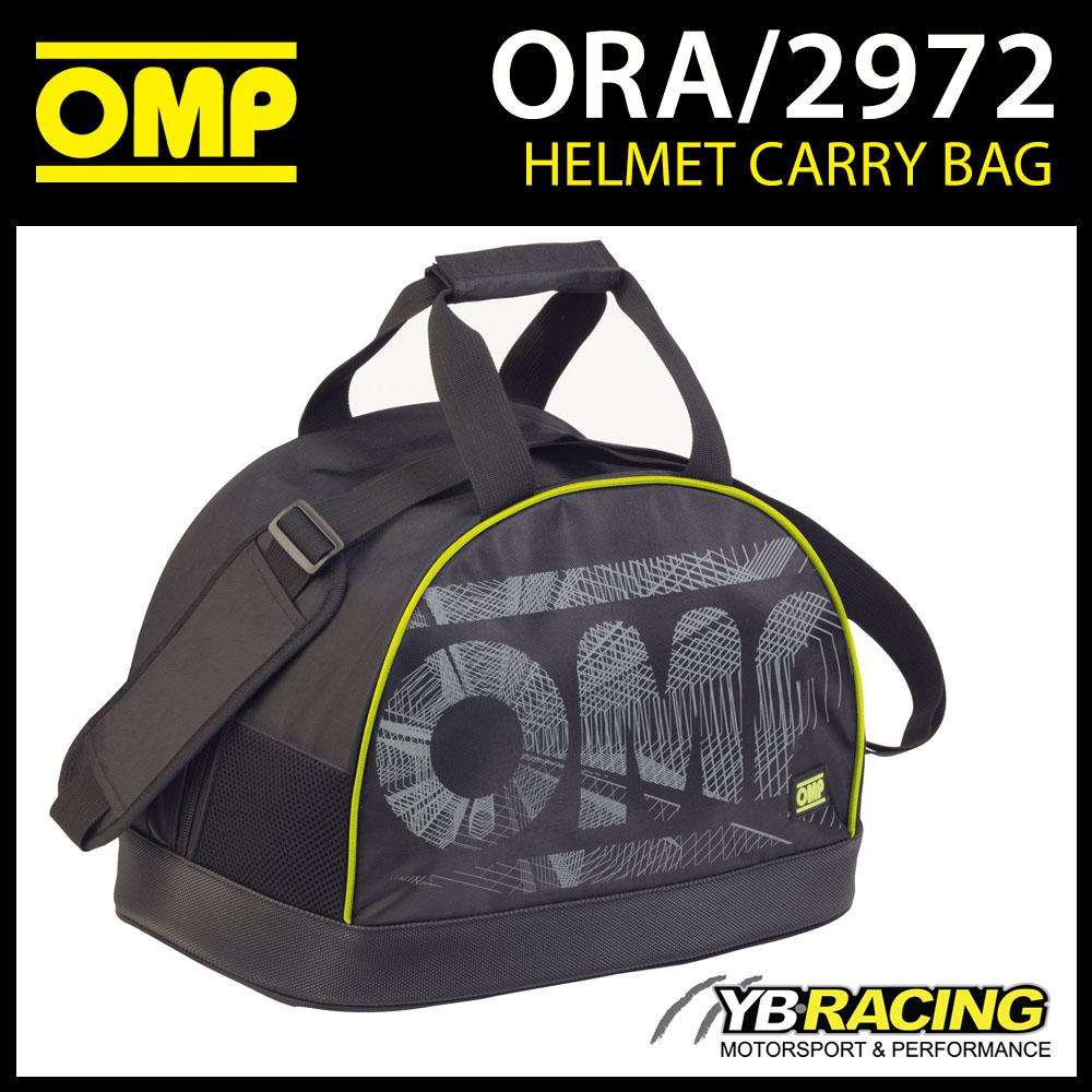 ORA/2972 OMP Race Rally Bike Helmet Carry/Storage Bag for 1 Helmet & HANS Device