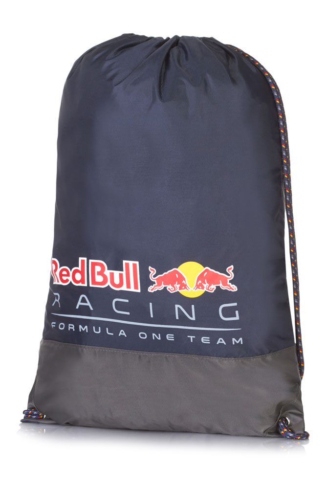 2016 red bull racing gym bag pull string bag formula one team f1 merchandise ebay. Black Bedroom Furniture Sets. Home Design Ideas