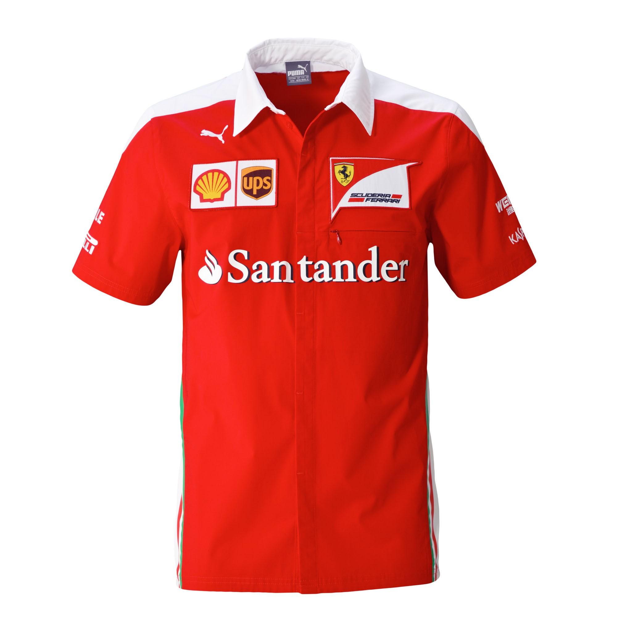 new 2016 ferrari formula one f1 mens sf team short sleeve red shirt sizes s xxl ebay. Black Bedroom Furniture Sets. Home Design Ideas