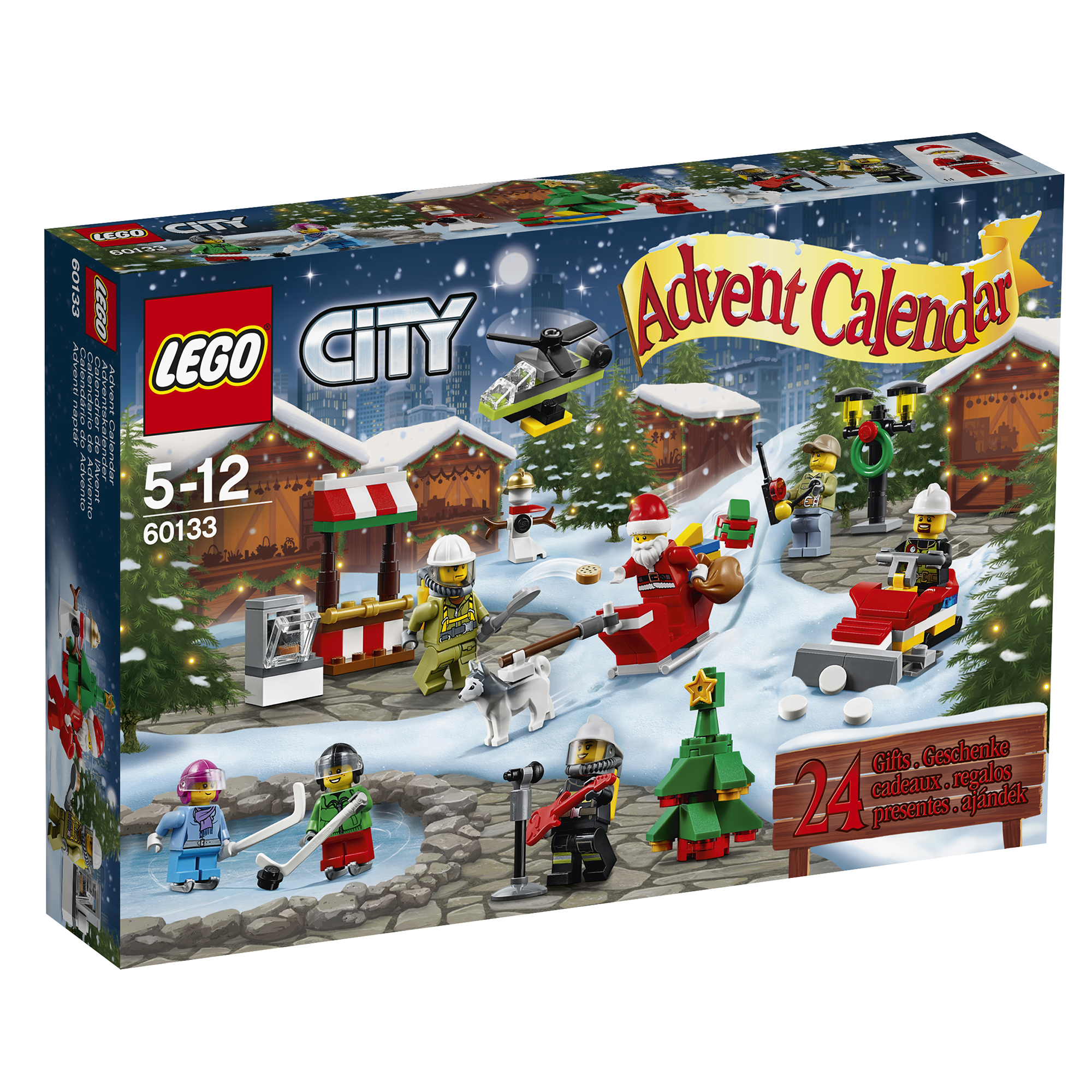 Christmas Number One Toy For Boys : New lego city town advent calendar ages for