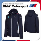 New! 2016 Puma BMW Motorsport Mens Team Windbreaker Jacket Coat Lightweight