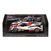 Toyota TS050 Hybrid Le Mans Race Car Model 1/43 Scale in Box 2016 Gazoo Racing