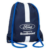 Ford Motorsport Team Pullsbag Pull String Gym Bag - WEC Ford GT Ganassi Racing