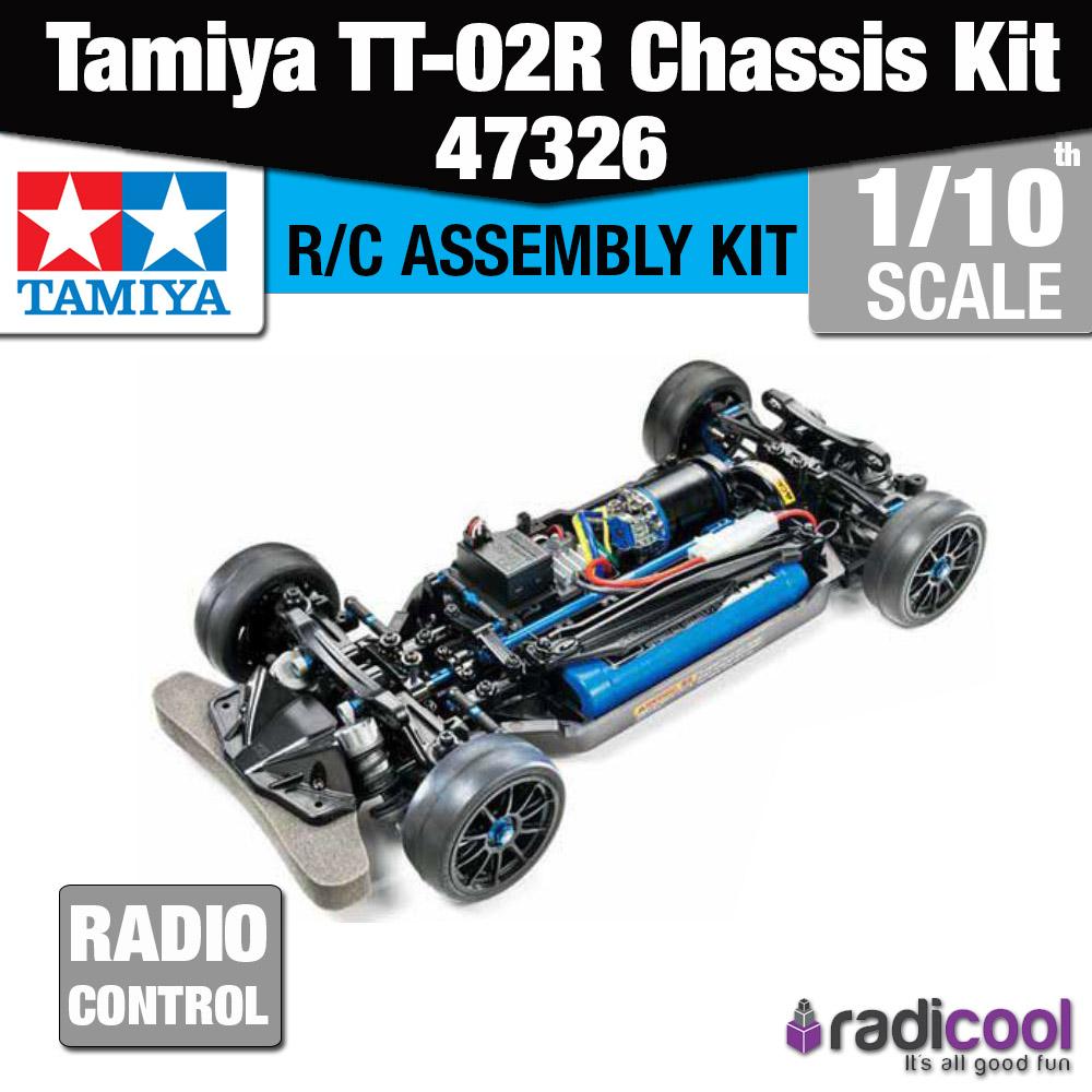 New! 47326 TAMIYA TT-02R 1/10th CHASSIS ASSEMBLY KIT R/C ...