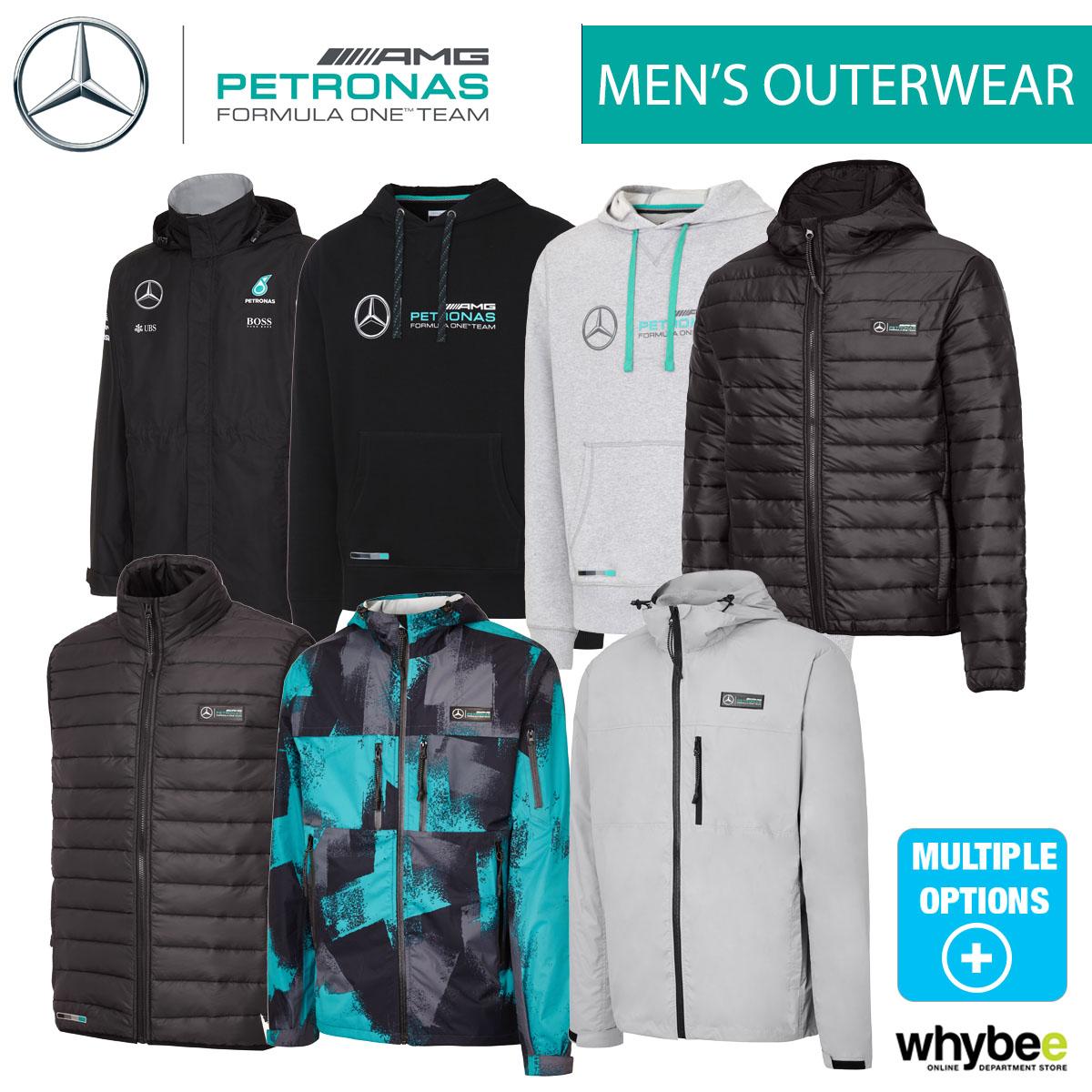sale 2016 mercedes f1 formula one team mens outerwear jacket coat fleece gilet ebay. Black Bedroom Furniture Sets. Home Design Ideas