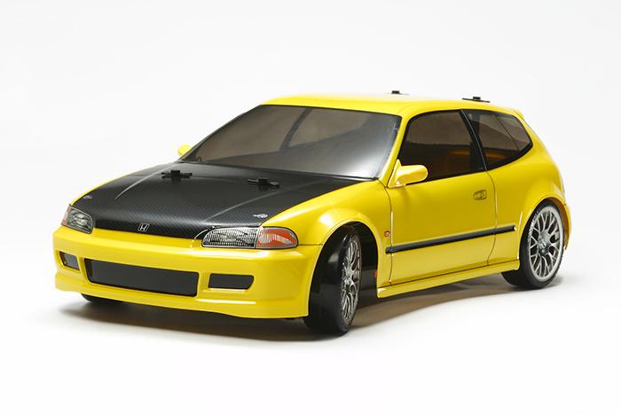 COMBO KIT! 58637 TAMIYA HONDA CIVIC DRIFT CAR TT-02D RC ...