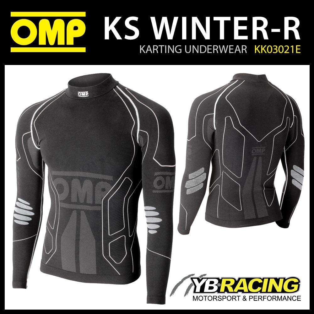 KK03021E OMP WINTER-R LONG SLEEVE BASE LAYER T-SHIRT