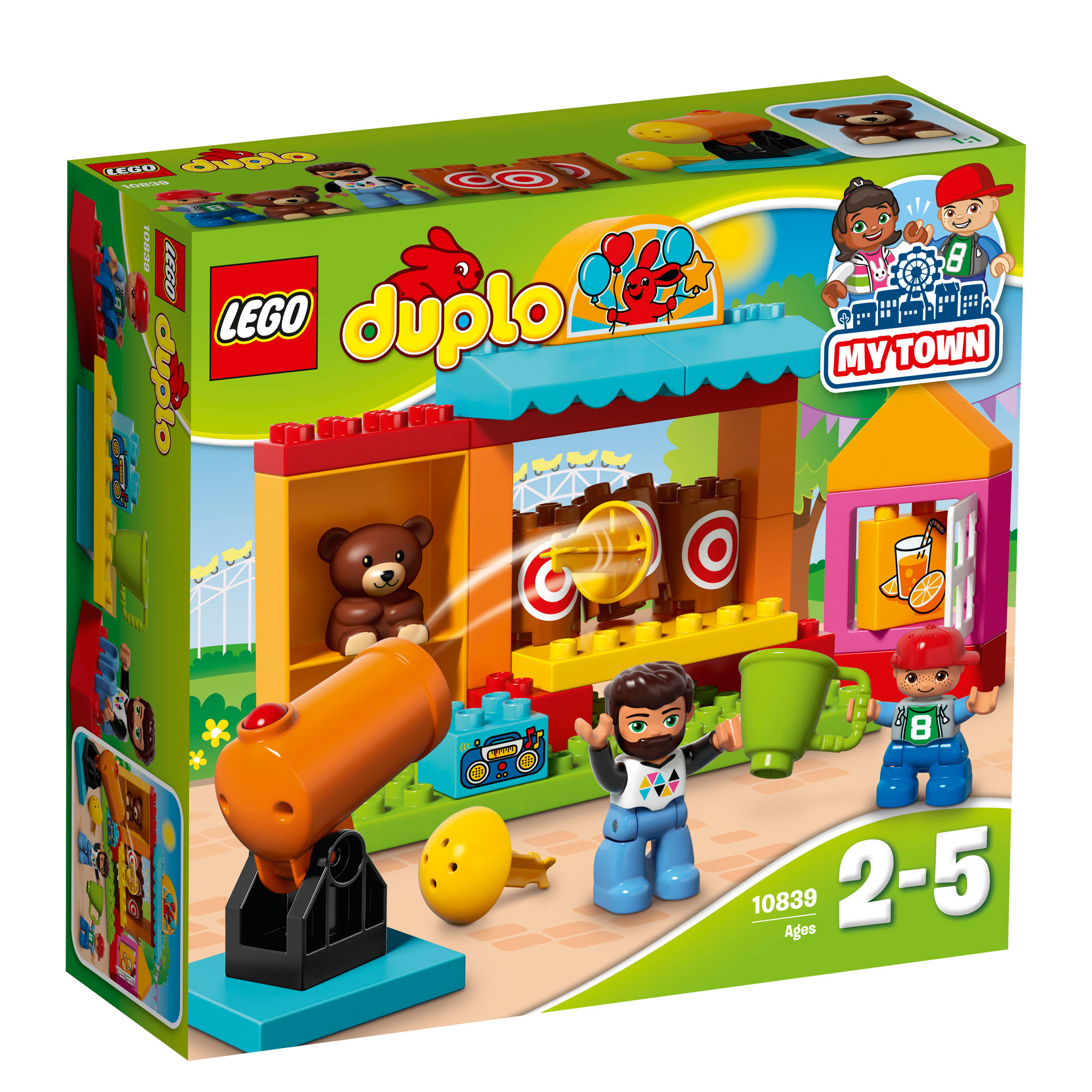 10839 lego duplo shooting gallery set 32 pieces age 2 5. Black Bedroom Furniture Sets. Home Design Ideas
