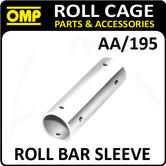 AA/195 OMP ROLL CAGE SLEEVE CONNECTION TUBE 40mm (1) FIA APPROVED RACE/RALLY