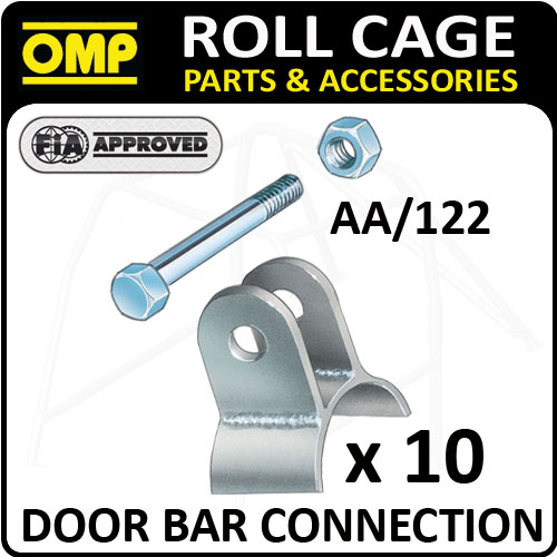 View Item AA/122 OMP ROLL CAGE 40mm BAR CONNECTION PACK (x10) FIA APPROVED! RACE/RALLY