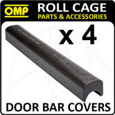 AA115A OMP ROLL CAGE PADDING PACK OF 4 ENERGY ABSORBING COVERS FIA APPROVED