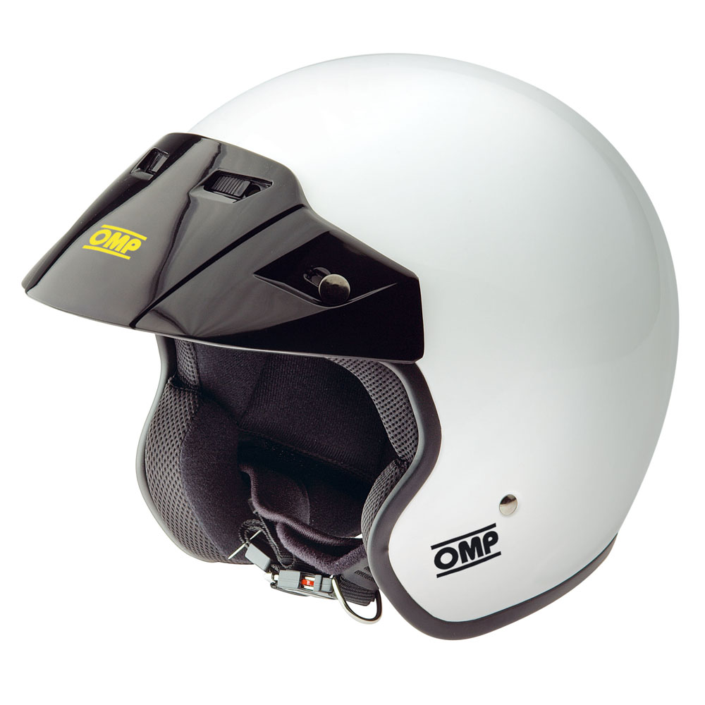Sc607 Omp Star Open Face Helmet M 57 59cm White Bikes