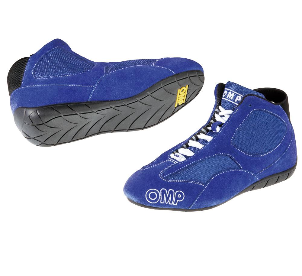 Ic 785sc Omp Competition Kart Boots Blue Size 43 Uk 9 Ebay