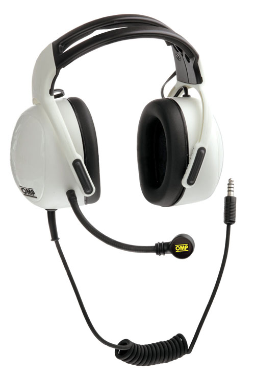 View Item JA/844 OMP WHITE HEADSET HEADPHONES FOR JA/833 INTERCOM