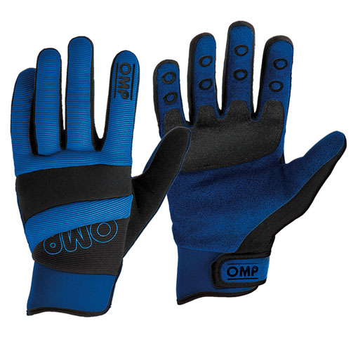View Item SALE! NB/1884 OMP 'DIP' MECHANIC SHORT WORK GLOVES XL Blue SALE PRICE!