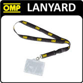 NEW! PR880 OMP RACING LANYARD NECK STRAP TICKET HOLDER - RACE MEETINGS & SHOWS