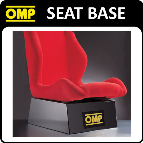 View Item X/963 OMP RACING BUCKET SEAT DISPLAY BASE STAND TO ATTACH 1 OMP BUCKET RACE SEAT