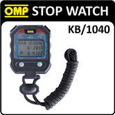 KB/1040 OMP RACING HANDHELD STOP WATCH 60 LAP MEMORY RACE/RALLY/TRACK/KARTING