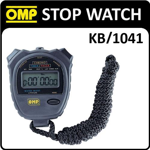 KB/1041 OMP RACING HANDHELD STOP WATCH CHRONOGRAPH for MOTORSPORT & RACING