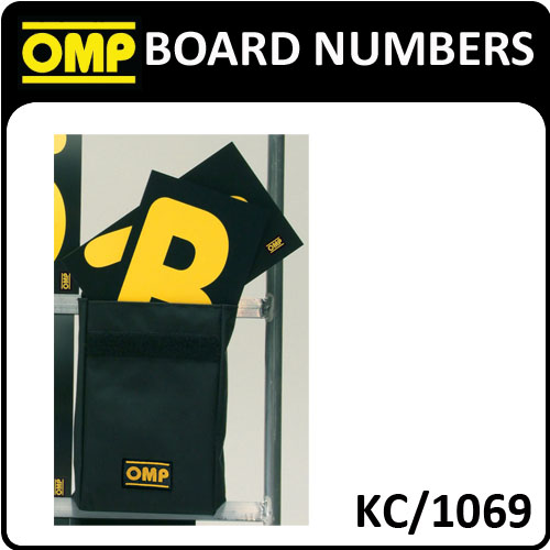 KC/1069 OMP PACK OF 42 SPARE CARDS 23x14cm in OMP CARRY POUCH FOR OMP PIT BOARDS