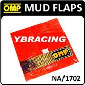 NA/1702 OMP RALLY DIAPRENE MUD FLAP RED HUGE SHEET 5mm THICK 2 metre x 0.5m