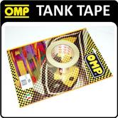 NA/1857 OMP RACING RALLY ALUMINIUM TANK TAPE 50mm WIDE 5 metre ROLL! RACE/RALLY