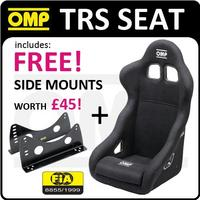 View Item HA/741/N OMP TRS RACING BUCKET SEAT BLACK FIA ENTRY LEVEL RACE SEAT + MOUNTS!
