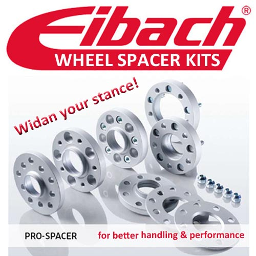 EIBACH 15mm PRO-SPACER KIT-6 Ford Fiesta MK7 (JA8) 08-