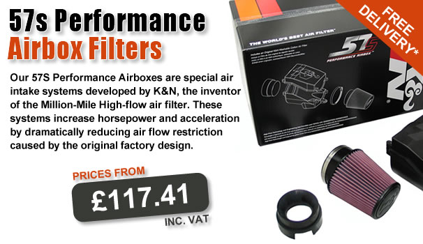57s Performance Airbox Filters