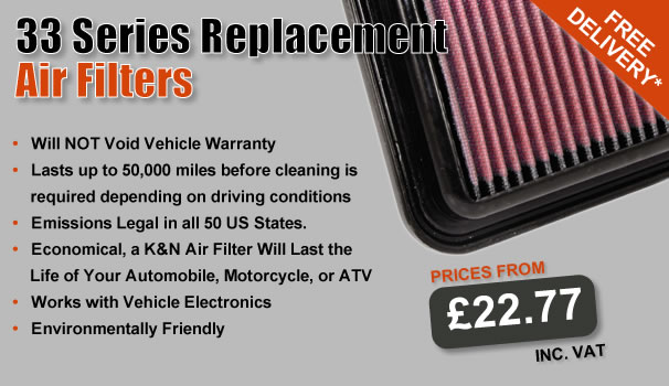 33 Series Air Filters