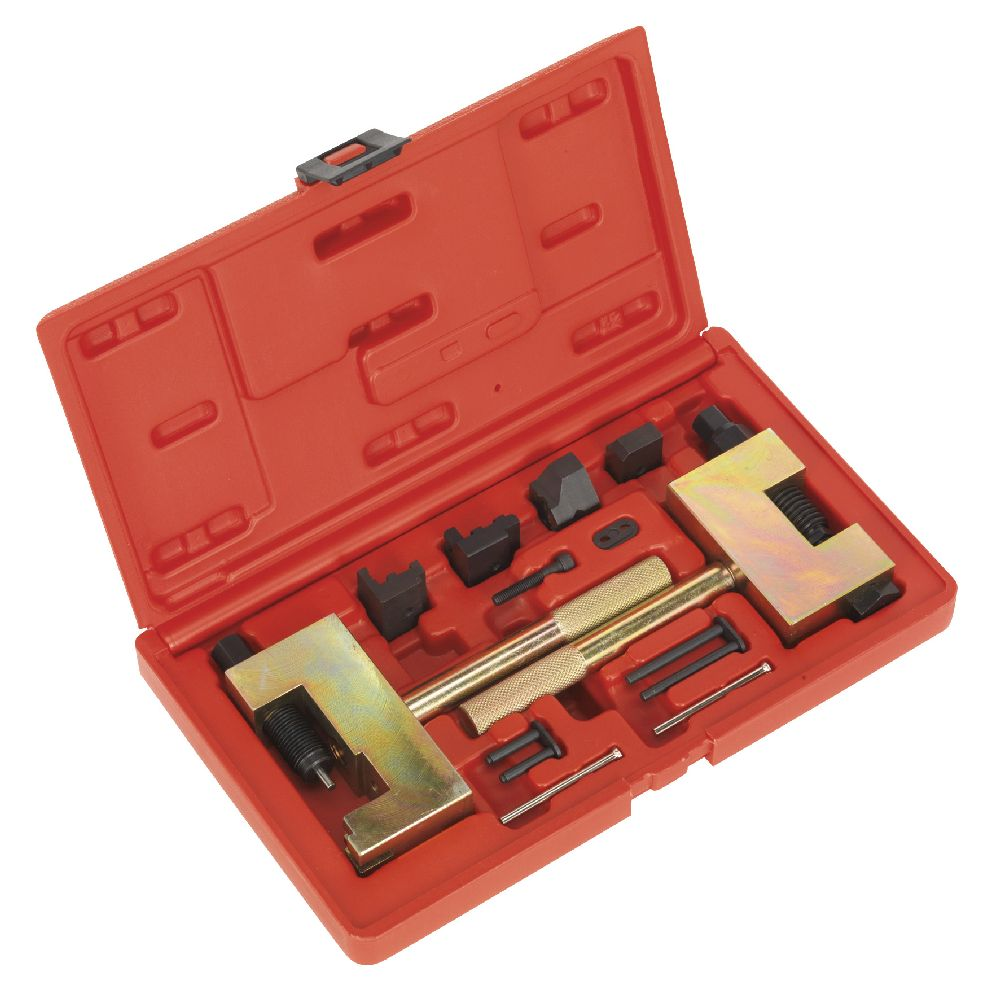 Vse4801 sealey diesel engine timing chain tool kit for Mercedes benz tool kit