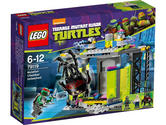 79119 LEGO Mutation Chamber Unleashed Ninja Turtles Age 5-12/ 196 Pieces / 2014