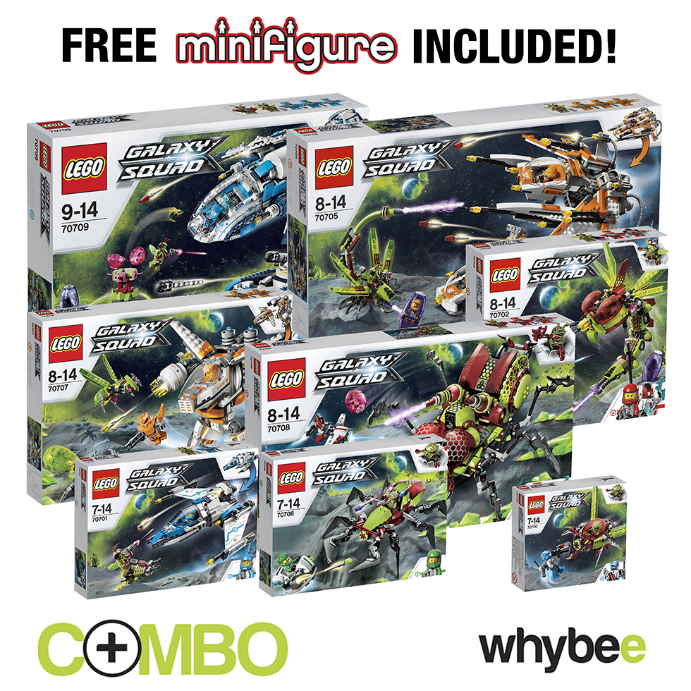 Lego galaxy squad master collection combo kit 8 sets for Collection master cls