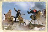 93089 FORCES OF VALOR RUSSIAN COSSACK CAVALRY DIVISION 1:72 SCALE MILITARY
